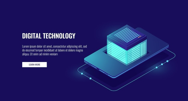 Aplicativo de celular e armazenamento de dados em nuvem, proteção de dados pessoais