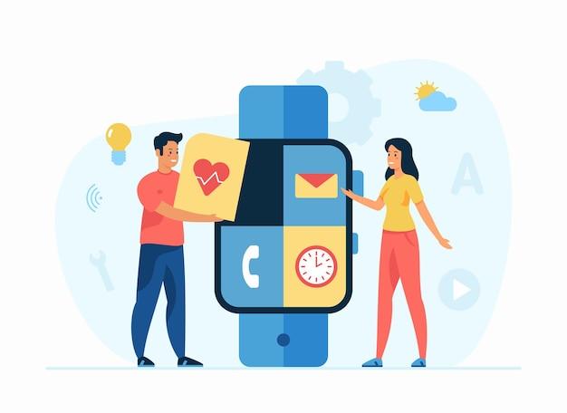 Aplicativo de relógios inteligentes