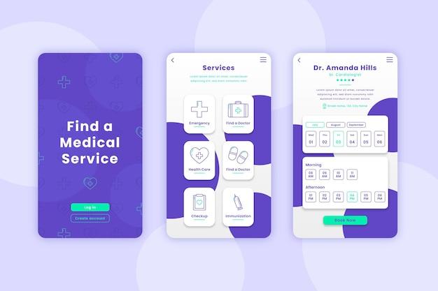 Aplicativo de reserva médica