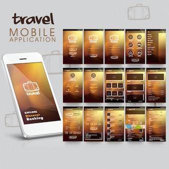 Aplicativo móvel viagem
