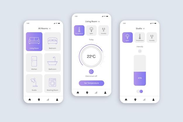 Aplicativo para casa inteligente