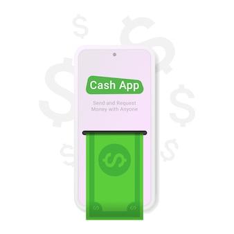 Aplicativo para dinheiro, ótimo design para qualquer finalidade