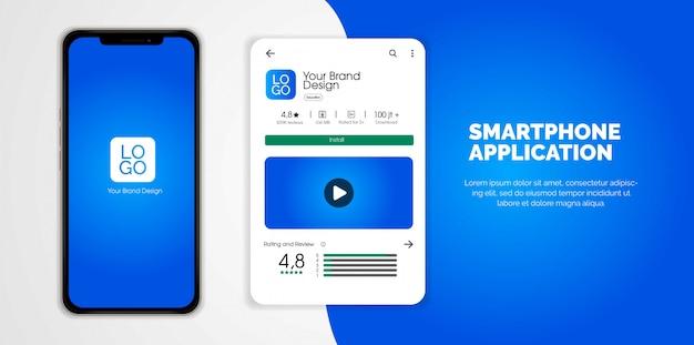 Aplicativo para smartphone com play store reviews