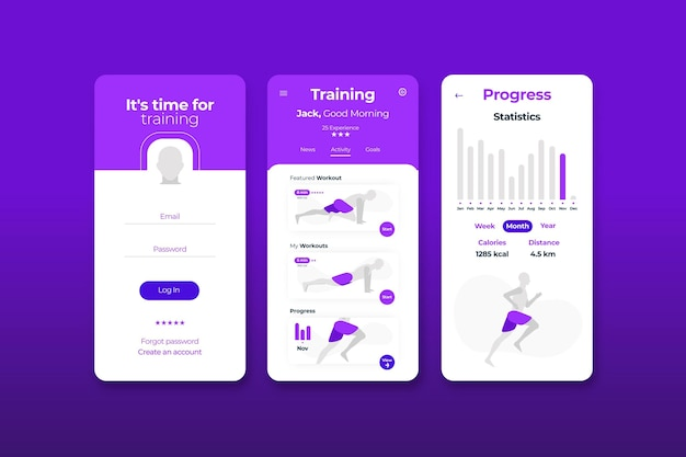 Aplicativo rastreador de treino