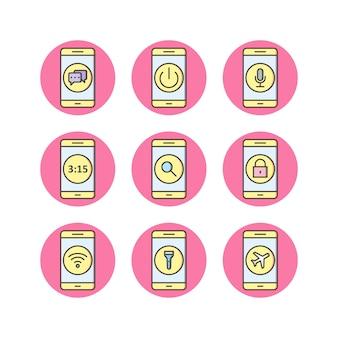 Aplicativos para celular icons
