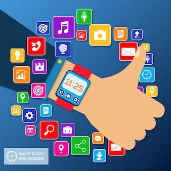 Aplicativos smartwatch
