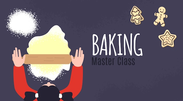 Apoiando o design do pôster da master class