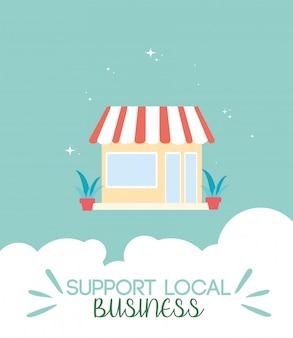 Apoie empresas locais e suas vendas