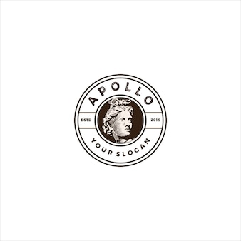 Apollo head vintage logo