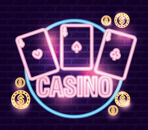 Apostas no jogo de cassino