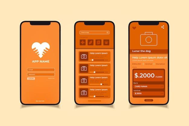 App de caridade