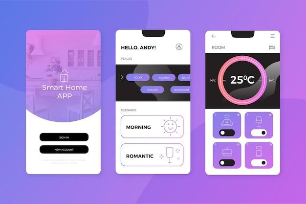 App de casa inteligente