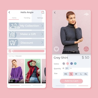 App de compras de moda