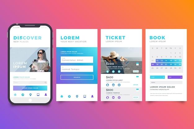 App de reserva de viagens