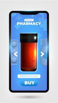 App de serviço de farmácia