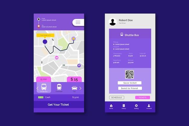 App de transporte público