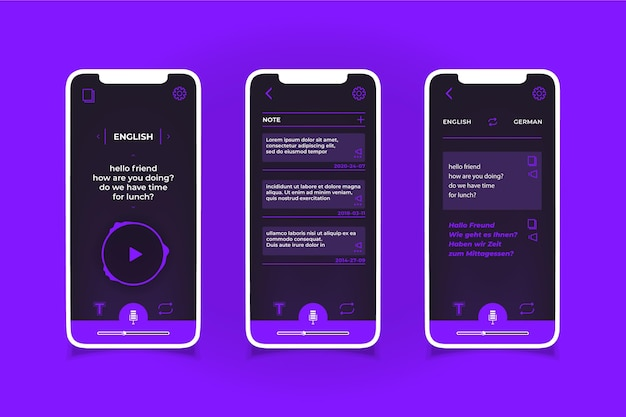 App tradutor de voz