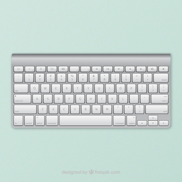 Apple wireless teclado