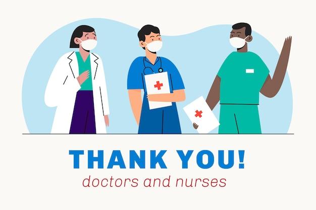 Apreciação de médicos e enfermeiros