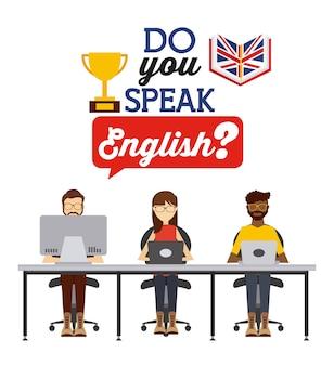 Aprenda inglês design