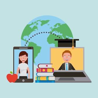 Aprendendo online