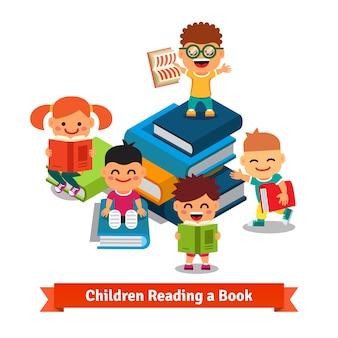 Aprender crianças e conceito de educação