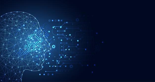 Aprendizagem de máquina de inteligência artificial