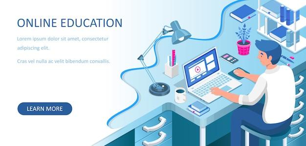Aprendizagem online em casa