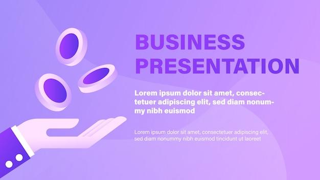 Apresentação de negócios