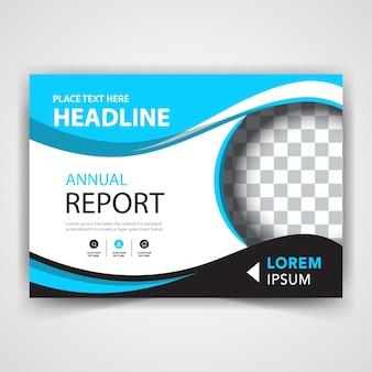 Apresentação do folheto horizontal