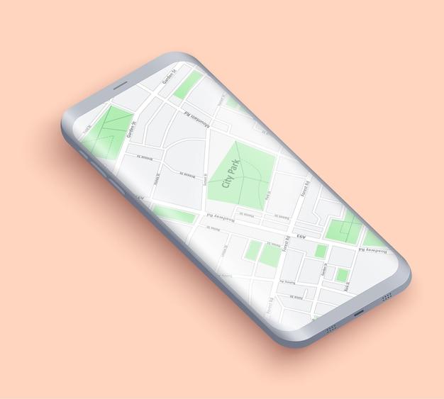 Apresentação do layout do smartphone