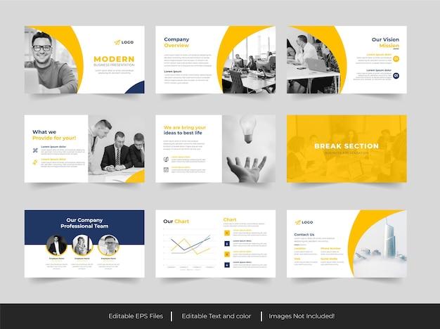 Apresentação em powerpoint de negócios corporativos