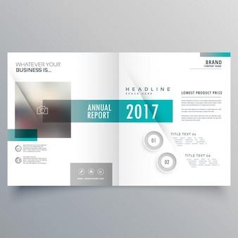 Apresentação modelo de layout de capa do livreto para o seu negócio
