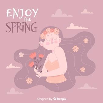 Aproveite a primavera