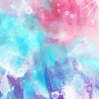 Aquarela abstrata manchas de fundo