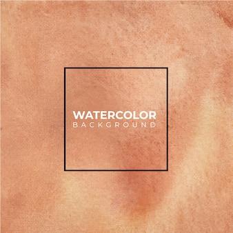 Aquarela abstrata marrom espirrando fundo, pintados à mão em papel.