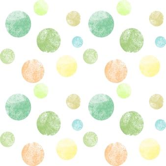 Aquarela abstrata padrão sem emenda com pontos