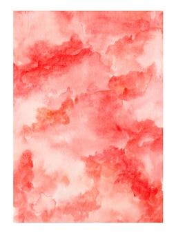 Aquarela abstrata pintada à mão como pano de fundo
