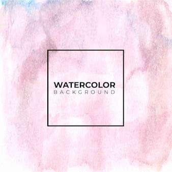 Aquarela azul rosa violeta molhado escova fundo de pintura. pintura à mão. salpicos de cor no papel