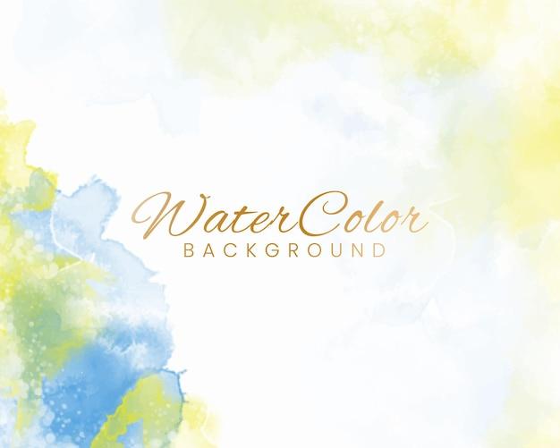 Aquarela colorida abstrata para o fundo