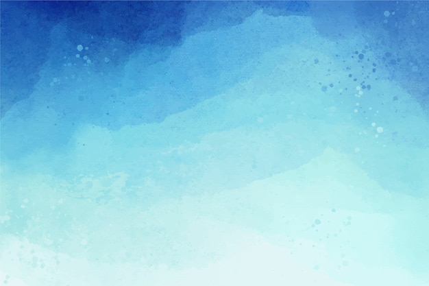 Aquarela cópia espaço fundo gradiente azul