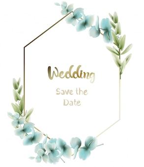 Aquarela de cartão boho de folhas verdes. rodada de verão e saudações botânicas verticais. botânica elegante pôsteres