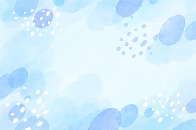 Aquarela de fundo abstrato cor de inverno
