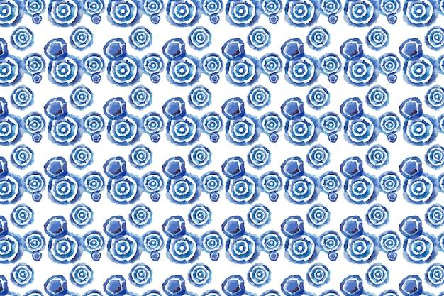 Aquarela de padrão shibori