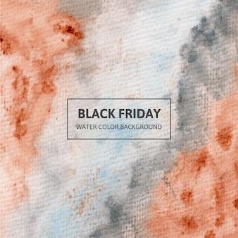 Aquarela negra sexta-feira