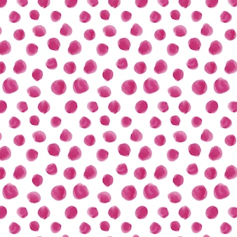 Aquarela pontilhada em cores rosa