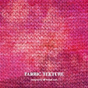Aquarela rosa textura de lã