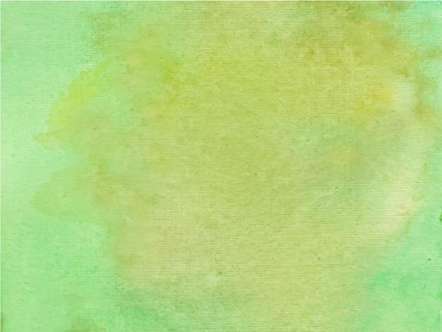 Aquarela verde abstrata