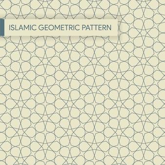 Árabe sem costura padrão geométrico