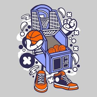 Arcade de basquete
